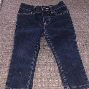 Dark blue skinny jeans